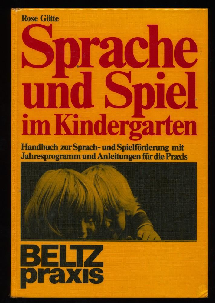 3407620195 - Sprache und Spiel im Kindergarten. Handbuch zur Sprach ...