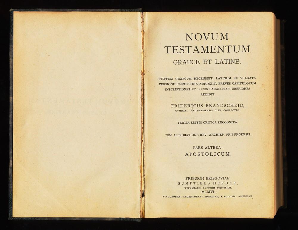 novum testamentum graece et latine nestle aland pdf