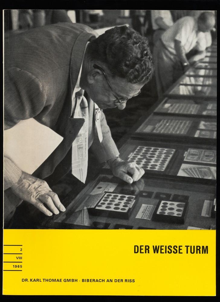 Der weisse Turm Nr. 2 / VIII: Dr. Karl Thomae