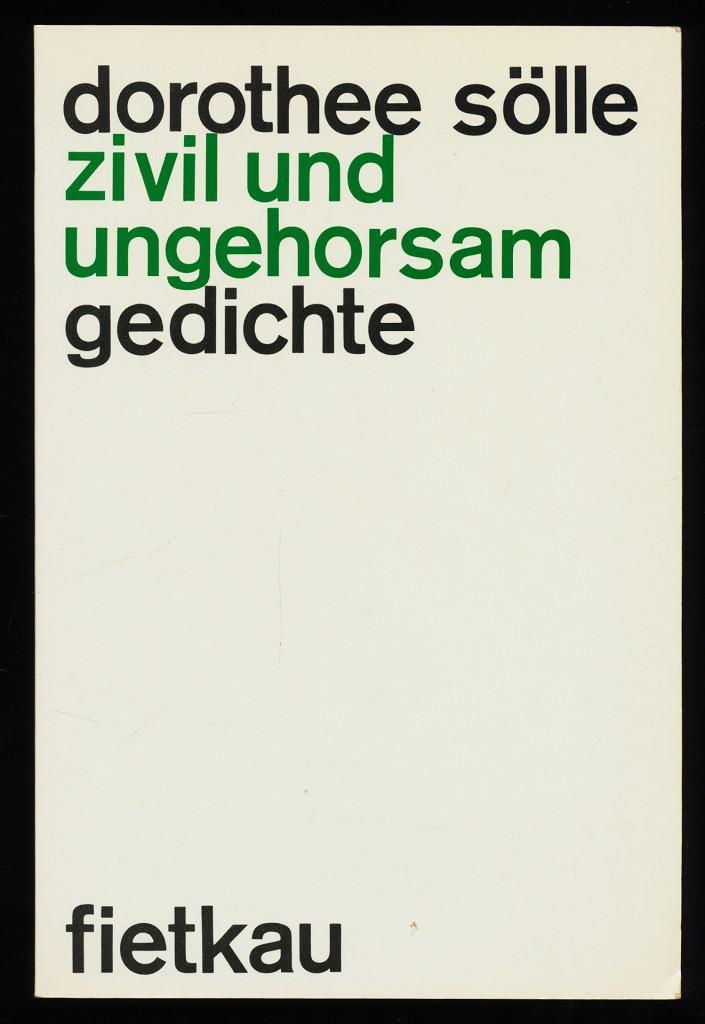 Zivil Und Ungehorsam Von Solle Zvab