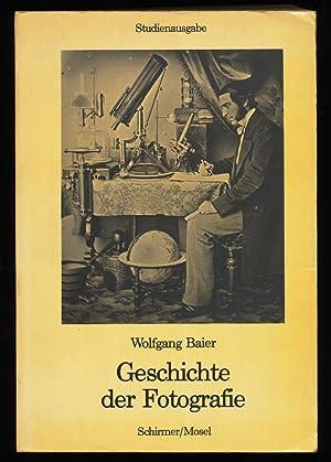 Quellendarstellungen zur Geschichte der Fotografie.: Baier, Wolfgang: