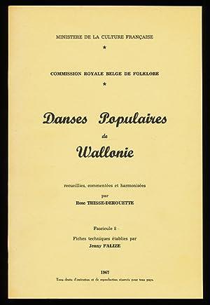 Danses Populaires de Wallonie recueillies , commentees: Commission royale belge