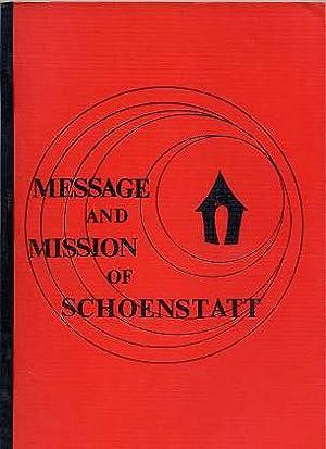 Message And Mission Of Schoenstatt , Group: Schoenstatt Sisters: