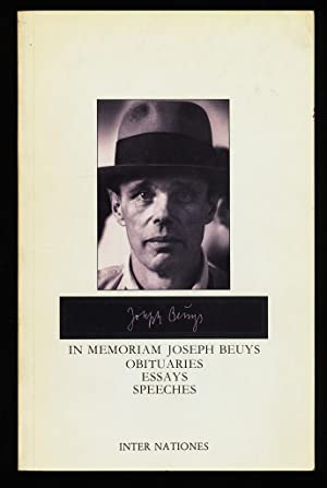 In Memoriam Joseph Beuys : Obituaries, Essays, Speeches.