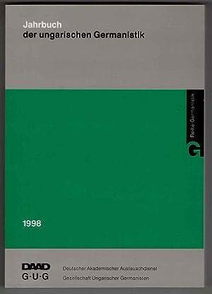 Jahrbuch der Ungarischen Germanistik 1998. Gesellschaft Ungarischer: Madl, Antal und