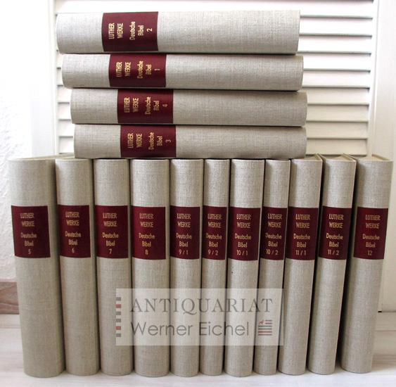 D. Martin Luthers Werke - Kritische Gesamtausgabe: Martin Luther