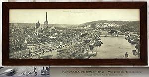 Panorama de Rouen No 2 - Vue prise du transbordeur (Bird s eye view taken from the Transborder ...