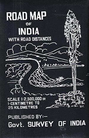 Road Map of India with Road Distances