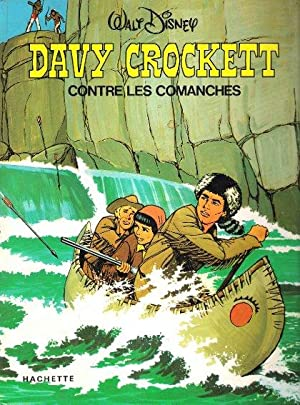 Davy Crockett contre Les Comanches