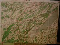 Carte ( Map ) LAC DE NEUFCHATEL . PONTARLIER , France : For Use By War and Navy Departement Agenc...
