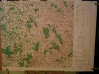 Carte ( Map ) VIERZON, France : For Use By War and Navy Departement Agencies Only , Not for Sale ...