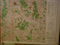 Carte ( Map ) NEVERS , France : For Use By War and Navy Departement Agencies Only , Not for Sale ...