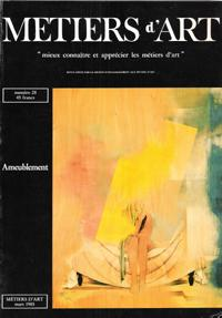 Métiers d'Art n° 28 . Mars 1985: Collectif