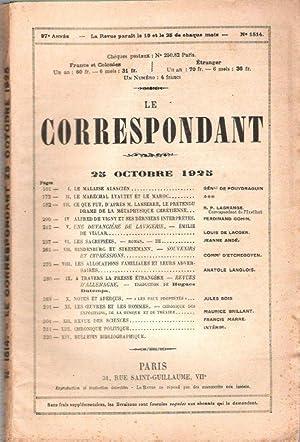 Le Correspondant : Religion - Philosophie -: DE POUYDRAGUIN Général