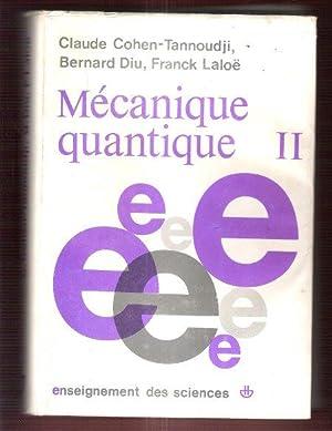 cohen tannoudji mecanique quantique pdf