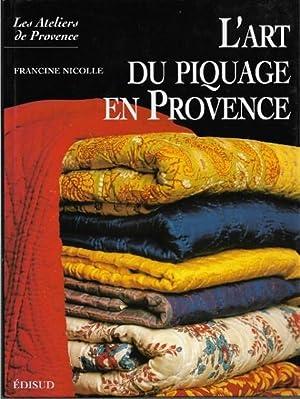 L'art Du Piquage En Provence: NICOLLE Francine