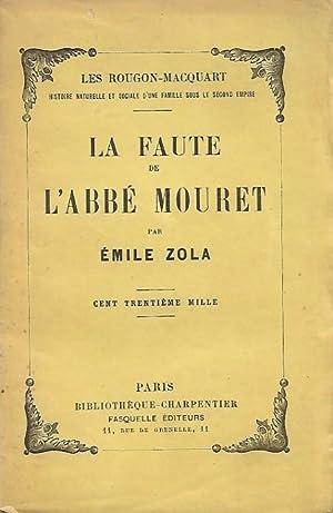 La Faute De l'Abbé Mouret: ZOLA Émile