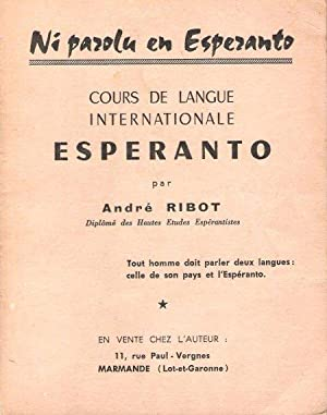 Cours de Langue Internationale : ESPERANTO