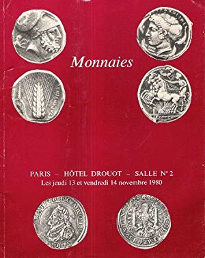 Monnaies : Grecques , Romaines , Byzantines: BOURGEY Emile ,