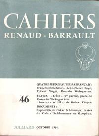 Cahiers Renaud- Barrault N° 46 : Quatre: Collectif