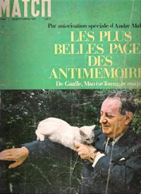 Paris Match N° 964 . 30 Septembre: CARTIER René ,