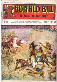 Le Secret Du Chef Sioux . N° 110 . Buffalo Bill's Trail of the Ghost Dancers or the Sioux Chiefs ...