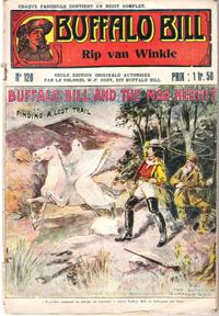 Rip Van Winkle . N° 120 . Buffalo Bill and the Man Hermit or Finding a Lost Trail
