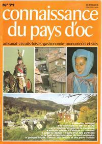 Connaissance Du Pays d'Oc . N° 71: Collectif