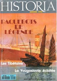 Historia n° 541 Janvier 1992 : Paquebots: Collectif