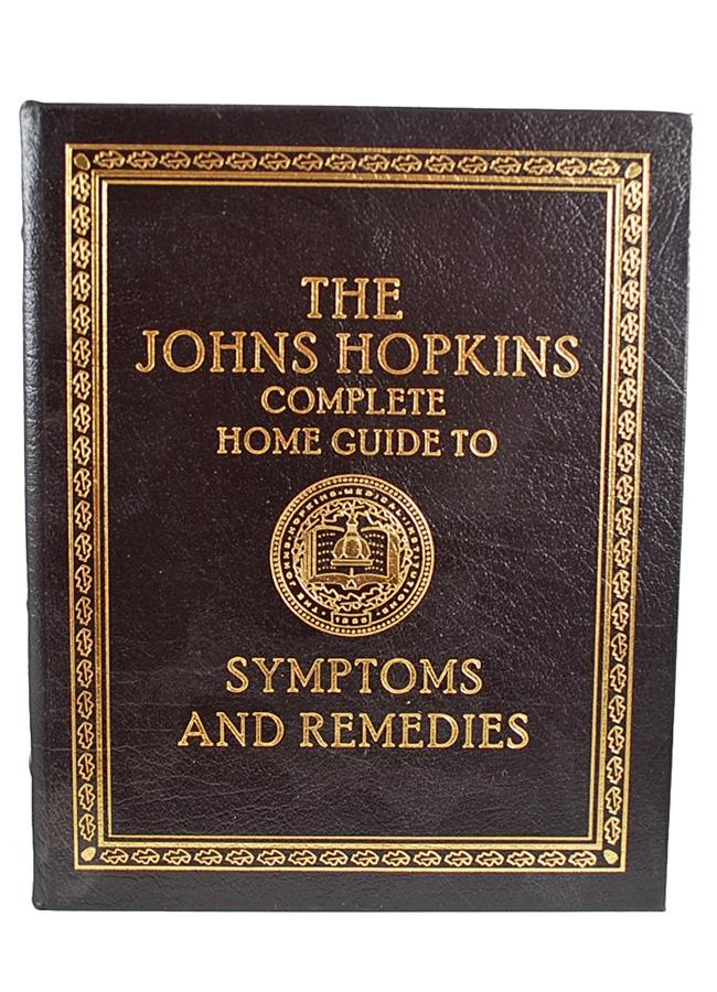 "Easton Press """"The John Hopkins Complete Home Guide to Symptoms and Remedies"""" Deluxe Limited Edition, Leather Bound Collector's Edition [Very Fine]"