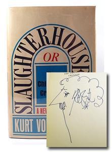 """Kurt Vonnegut """"Slaughterhouse-Five"""" Signed First Edition, First: Kurt Vonnegut"""