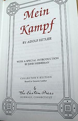 Mein Kampf by Adolf Hitler - AbeBooks