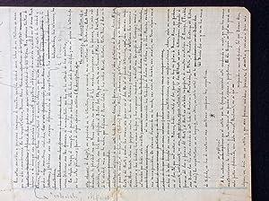 """Manuscrit original de """"Buenos Aires en Tinta: BORGES, Jorge Luis;"""