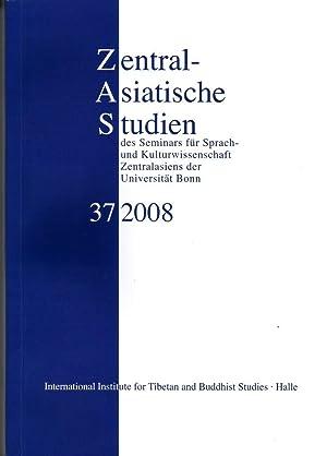ZAS Zentralasiatische Studien des Seminars für Sprach-: Hrg. Peter Schwieger,