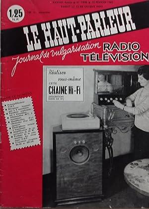 LE HAUT PARLEUR N°1048, 1962