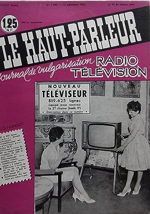 LE HAUT PARLEUR N°1043, 1961