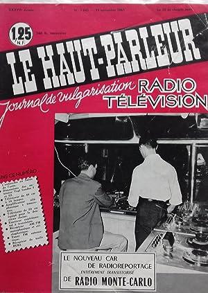 LE HAUT PARLEUR N°1045, 1961