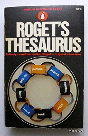 ROGET`S THESAURUS OF ENGLISH WORDS AND PHRASES