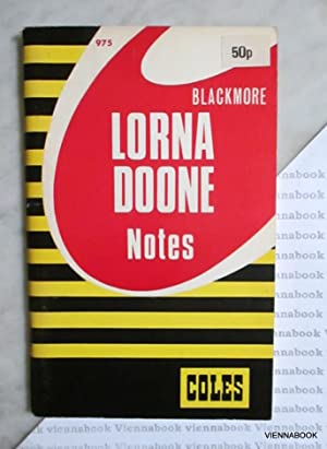 Lorna Doone. Notes (Coles Notes 975)