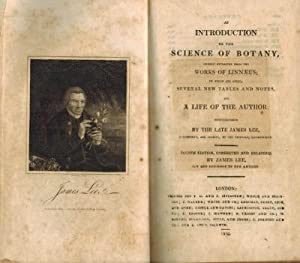 An introduction to the science of botany, chiefly extracted from the works of Linnaeus; to which ...