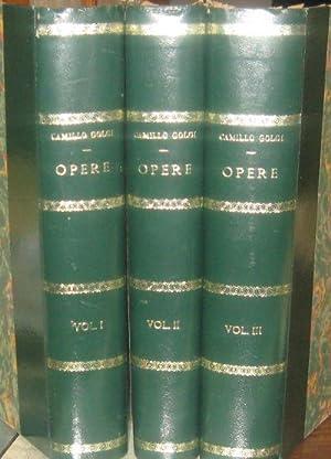 Opera omnia.: Vol.1 Istolgia normale (1870-1883) Vol. 2 Istologia normale (1883-1902) Vol. 3 ...