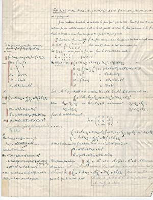 [NUMBER THEORY -MANUSCRIPT & OFF PRINTS].: KRAITCHIK, MAURICE