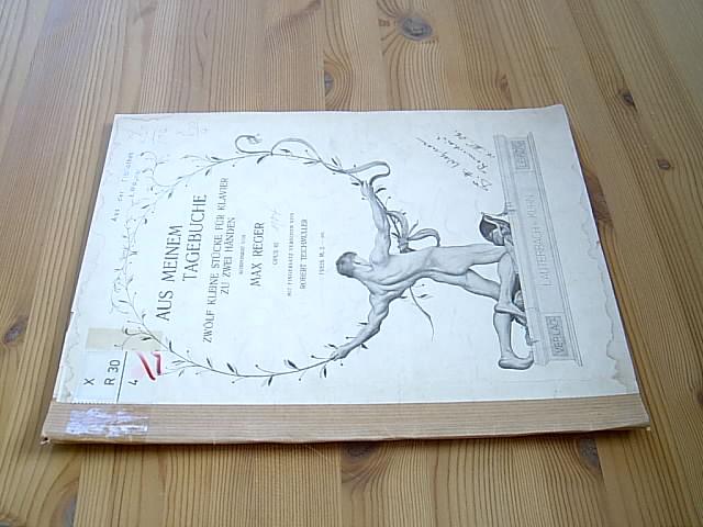 Band 1 Kleine Stücke Für Klavier Liberal Max Reger : Aus Meinem Tagebuch Opus 82