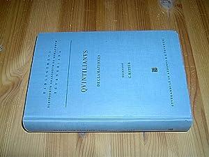 M. Fabii Quintiliani Declamationes quae supersunt CXLV.: Quintilianus, Marcus Fabius: