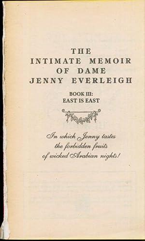 The Intimate Memoir of Dame Jenny Everleigh,: Jenny Everleigh