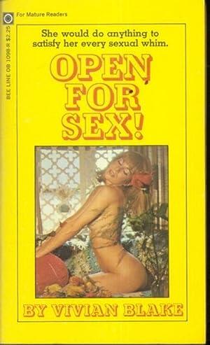 Open For Sex! OB-1098: Vivian Blake