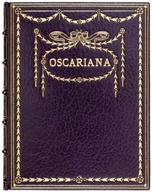 Oscariana. 1 of only 20 copies.: Oscar Wilde