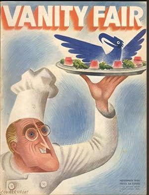Vanity Fair 1934 November Issue (Magazine): Crowninshield, Frank. Conde Nast.