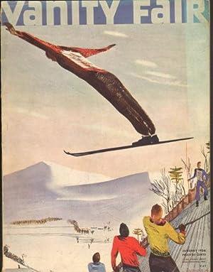 Vanity Fair 1936 January Issue (Magazine): Vanity Fair