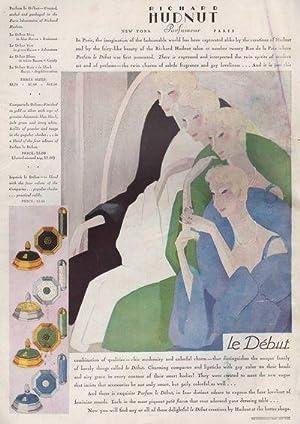 Harper's Bazar (Harper's Bazaar), November, 1928: Philip Gibbs, Albert Kinross, Gene ...